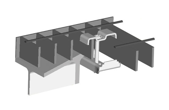 Diagram - GRATING CLIP